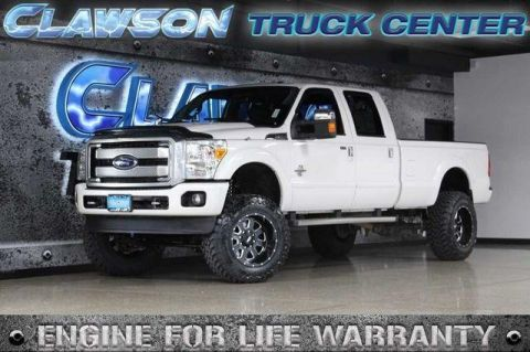 Pre-Owned 2015 Ford Super Duty F-350 SRW 4WD Crew Cab 172 Platinum 4WD
