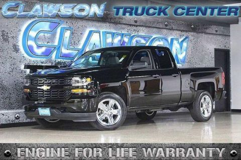 Pre-Owned 2016 Chevrolet Silverado 1500 2WD Double Cab 143.5 Custom RWD Extended Cab Pickup