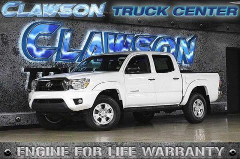 Pre-Owned 2014 Toyota Tacoma 2WD Double Cab V6 AT PreRunner (Nat RWD Crew Cab Pickup